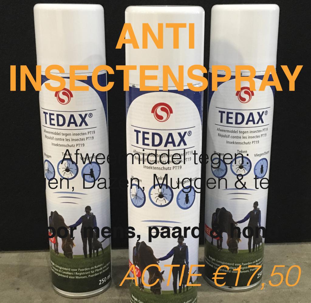 Tedax afweermiddel insecten-klein