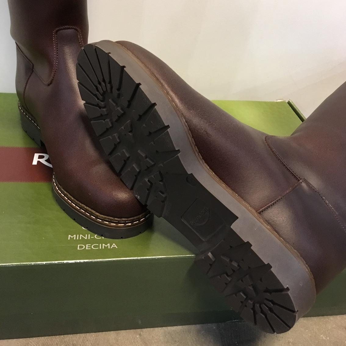 Laarzen Rectiligne Grenoble | Nieuw | Bruin | Maat 41 kuit 38,5